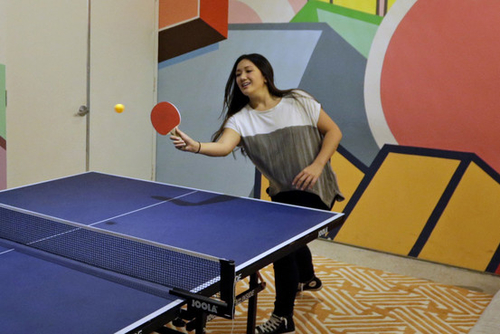 Ping pong tables - the modern day canaries in the coal mine