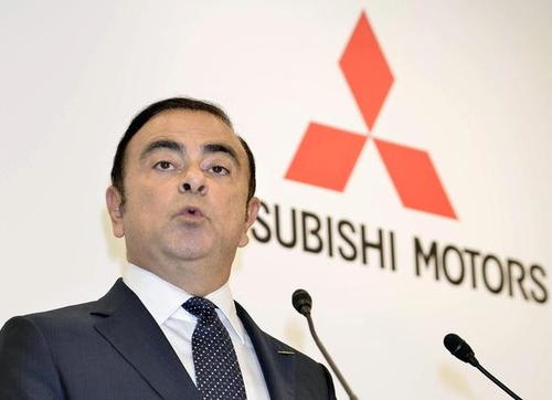 Driving Mitsubishi Forward