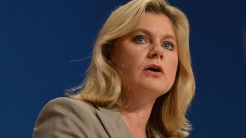 Justine Greening - the new education secretary
