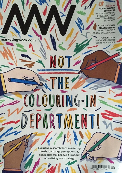 The colouring-in department