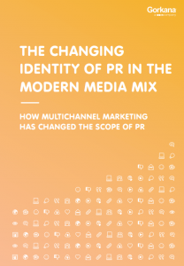 The blurring of PR and marketing - it's digital's fault