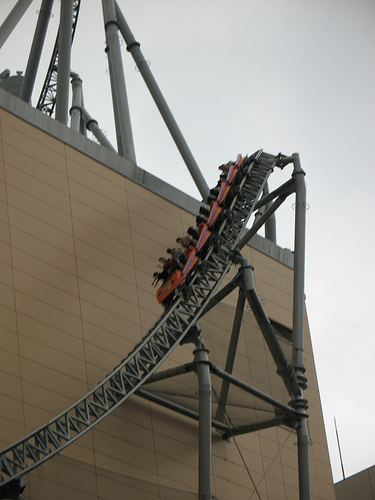 Rollercoaster accident in Scotland