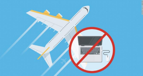 Laptop ban in cabins of 9 airlines on non-stop flights to U.S.