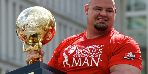 Does the Worlds Strongest Man Train Like an Endurance Athlete?