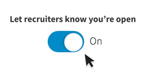 Let Your Next Job Find You via LinkedIn