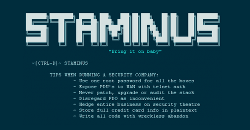 Staminus hack shows the importance of security basics