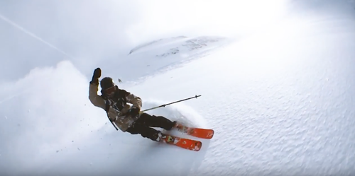 This action packed video is amazing - think off piste and your video could go viral