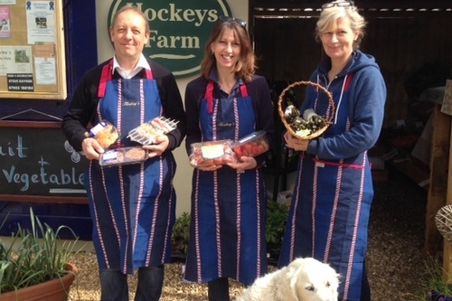 Can you win an CPRE Hampshire award like Hockey's Farm Shop & Forest Holidays?