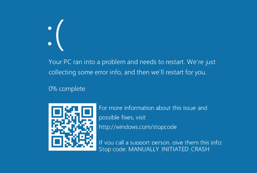 New Windows 10 BSOD uses QR codes, malware authors rejoice