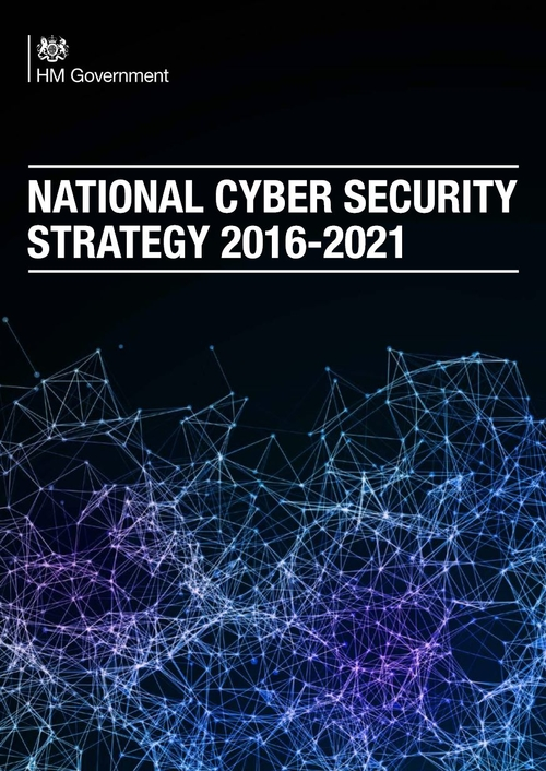 National Cyber Security Strategy 2016 to 2021 - First thoughts