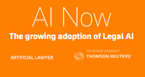 The rise and rise of AI/chatbots/robots in legal IT