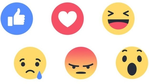 Facebook is rolling out a range of Reactions to replace its iconic Like button