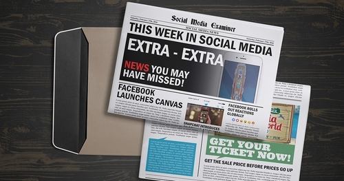 What's new in social media this week?