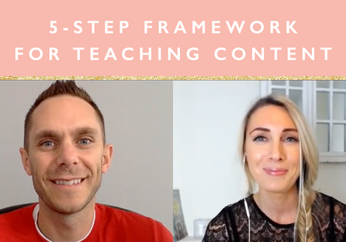 Teaching Content 5 tips
