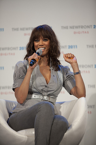 Tyra Banks... Not just a pretty face