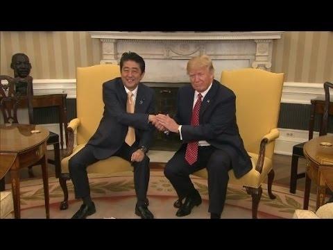 Don't do a President Trump handshake
