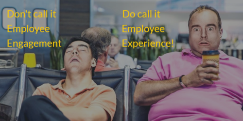 Don't call it Employee Engagement call it Employee Experience