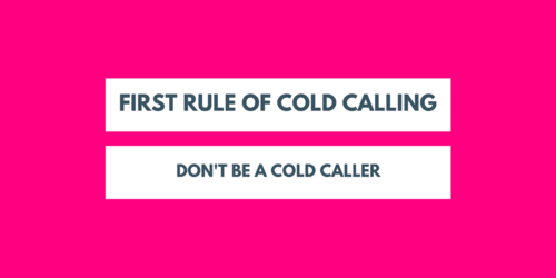 Cold calling for pros