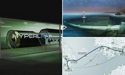 Hyperloop technology could make HS2 redundant?
