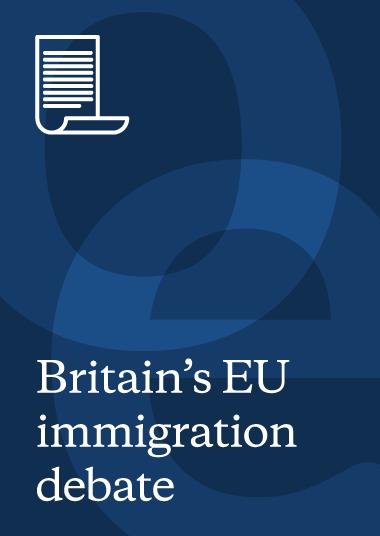The EU migration debate