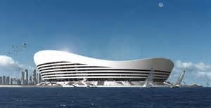 Innovative Floating stadium