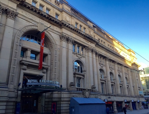 Manchester:  £85m Royal Exchange Purchase