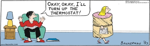 Thermal comfort or 'Why do we always argue about the temperature in the office'.