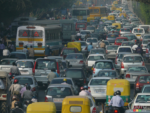 India's problem with air pollution.  Can electric cars help?