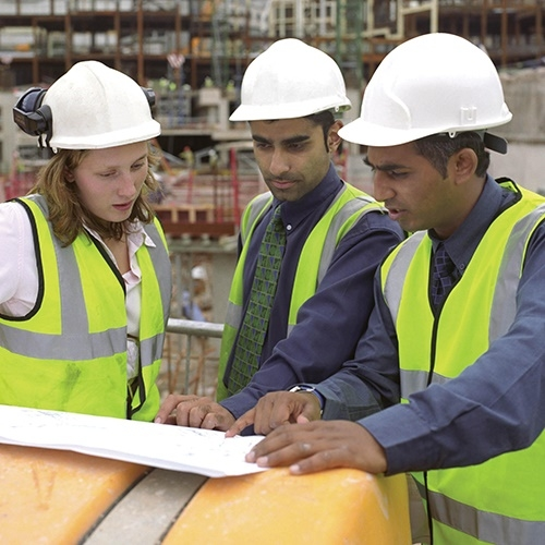 Turning the heads of the younger talent in Construction