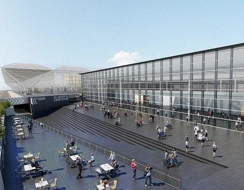 Stansted Airport £130M new arrivals building