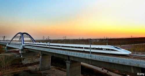 China's high speed rail ambitions