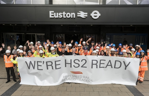 HS2 officially underway