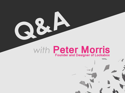 Q&A with Peter Morris, Founder and Director of Lockabox