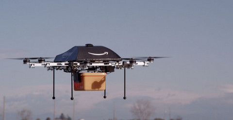 Amazon drone tests set for take off