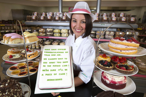 Morrisons hires worker to watch The Great British Bake Off