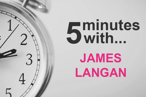 5 minutes with James Langan....FMCG Commercial Director