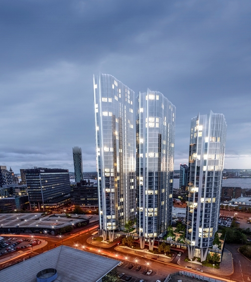 £250 Million application for triple towers.