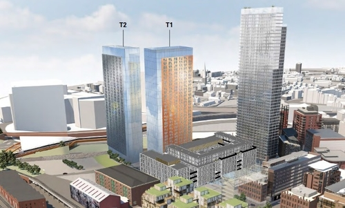 ST John's towers set for approval