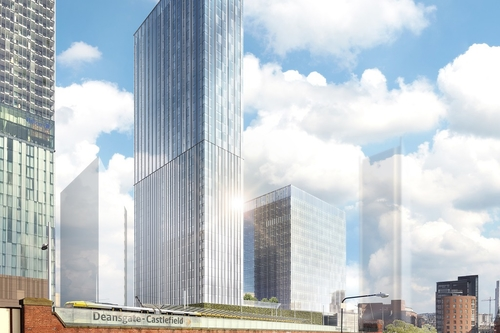 Ask lodges £300m Manchester towers proposal