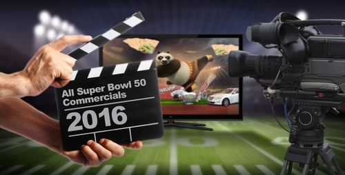 Super Bowl Adverts 2016!