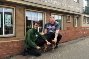 Trusty microchip helps Tom find his way home!