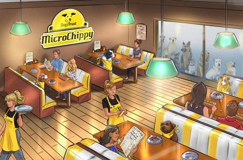 Dogs Trust introduces world's first 'Microchippy'