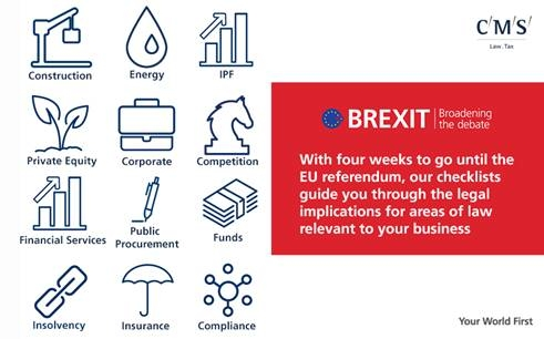 Brexit: Checklists