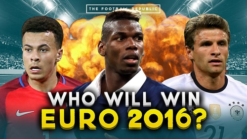 Predicting the Winner of the Euro's 2016