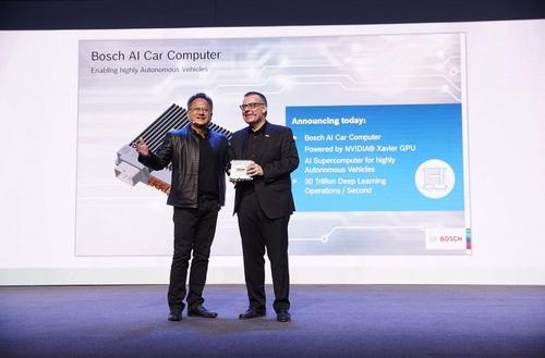 NVIDIA and Bosch in strategic AI tie-up