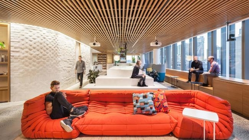 Corporate Culture in Australia: Dropbox making bid to be named Sydney's coolest office