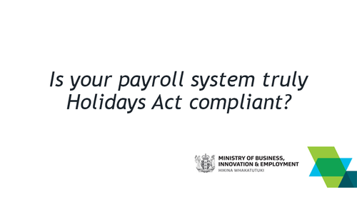 Holidays Act bill $35m and counting