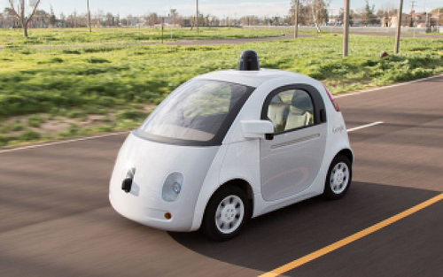 Google driverless car in road accident
