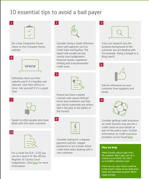 10 point checklist on avoiding a bad payer