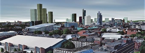 Visulatisations of Manchester's Future Skyline